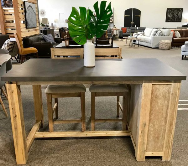 Concrete Top Counter Table